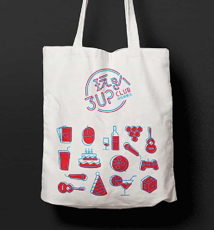 帆布袋定制可印刷logo任意图案订制